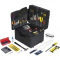 Jensen Tools JTK-93WW Electro Mech. Service Kit in Roto Rugged Wheeled Case