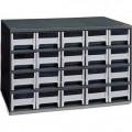 Akro-Mills 19-320 Modular Storage Cabinet, 20-Drawer