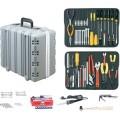 Jensen Tools JTK-17LHST Kit in Deep Super Tough Gray Case