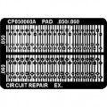 CircuitMedic CP050060AS Plated Thru Hole Repair Pad, .050