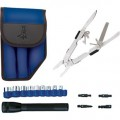 Jensen Tools 1-365BL Multi-Tool Kit II, Blue Pouch