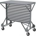 Akro-Mils 30812 Mobile Bin Cart, 38-1/2
