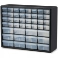 Akro-Mils 10144 Clear 44-Drawer Small Parts Cabinet