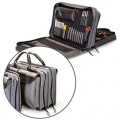 Jensen Tools JTK-7500DBL Inch MM Medical Equipment Kit in Double Gray Cordura Case
