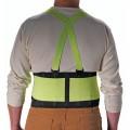 PIP 290-550 Medium Back Support Belt with Hi-Vis Yellow, Nylon 8-inch Belt Width