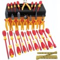 Wiha Tools  Insulated Electrician Tool Kit 1000 Volt, 32 pc