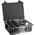 Pelican 1550 All Weather Foam Filled Case, Black, 19 x 14-7/16 x 7-3/4