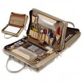 Jensen Tools JTK-49DBLR Workstation Kit in Double-Sided Khaki Cordura Case