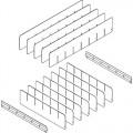 IAC Industries 1055002 Workmaster Drawer Dividers - 6