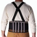 PIP 290-440 Medium Back Support Belt with Black Nylon Mesh Fabric