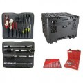 Jensen Tools JTK-94WL Tool Kit in 14 Inch Deep Wheeled Case