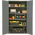Durham MFG 2602-4S-95 Industrial Storage Cabinet 16 Gauge Steel with 4 Shelves, 36