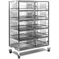 5484SDC 10 Door Desiccator Mobile Cabinet, 48