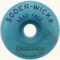 Chemtronics 40-1-5 Lead Free Wick, .030