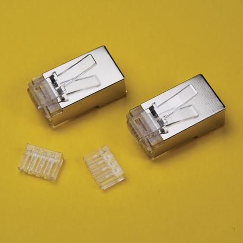 Wavenet Rj45 6ftp Shielded Cat6 Rj45 Plugs Bag Of 2