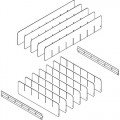 IAC Industries 1055004 Workmaster Drawer Dividers - 6