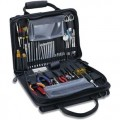 Jensen Tools JTK-49DBLRB Workstation Kit in Double-Sided Black Cordura Case