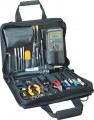 Jensen Tools JTK-86BK Technician's Tool Kit in Single Black Cordura Plus Case