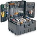 Jensen Tools JTK-3606 Master Field Service Toolkit with 12 Inch Deep Wheeled Roto Rugged Case- 3600 Series