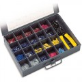 23-090 Solderless Terminal Kit With Tool, 10-22 AWG
