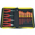 C.K. 3675S Insulated Tool Set, 11 piece