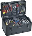 Jensen Tools JTK-91WW Inch Electro-Mech. Installer's Kit in Roto Rugged Wheeled Case