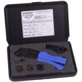 Sargent Tools TK4150 Coax Crimp Kit w/4 interchangeable dies & stripper