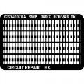 CircuitMedic CS040070AS Surface Mount Pad Frame, .040