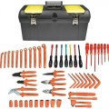Jensen Tools JTK-13309 Electrician's Insulated Tool Kit- Metric