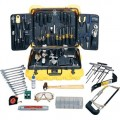 Jensen Tools 57-TY87 CEK-57 Industrial Service Kit with Transit Style Yellow Case
