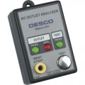 Desco 98130/98132 Grounding Plug Analyzer with Built-In Wrist Strap Tester